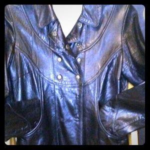 Doma fabulous warm leather jacket